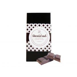 TABLETTE CHOCOLAT NOIR AUX ECLATS DE CARAMEL AU BEURRE SALE - 90G