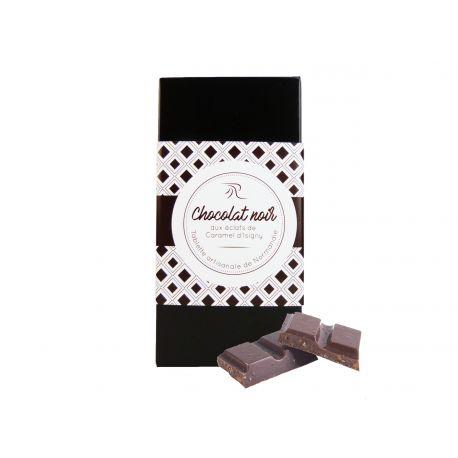 Tablette Chocolat Noir aux Eclats de Carame