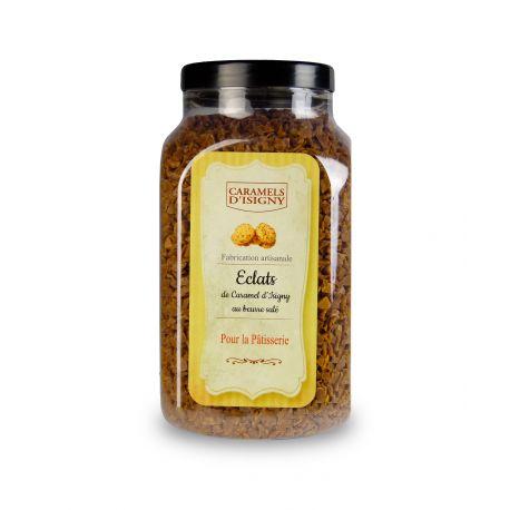 Pot 700 grs - Eclats de Caramel d'Isigny au Beurre salé
