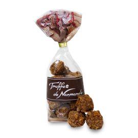 TRUFFES SACHET NOEL - CHOCOLAT A LA CREPE DENTELLE