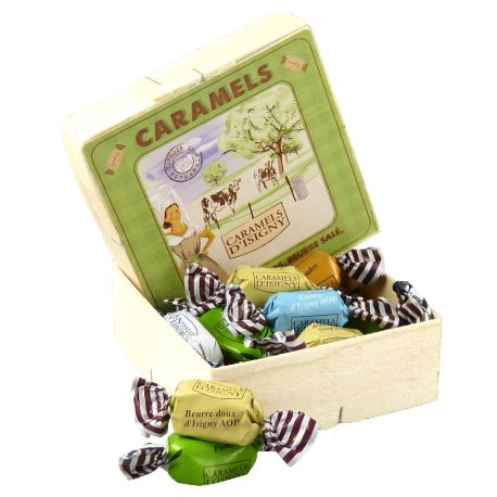 Boîte Pavé Caramels Assortiment Normandie