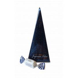 Pyramide de Noël/Nouvel An - Bleu