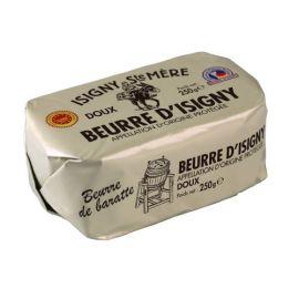 BEURRE D'ISIGNY A.O.P. DE BARATTE  -  DOUX 250G
