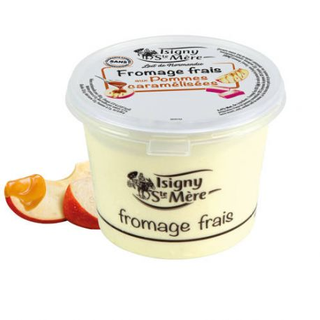 FROMAGE FRAIS POMME CARAMELISEES