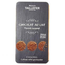 BOUCHEES CHOCOLAT LAIT COEUR CARAMEL BEURRE SALE