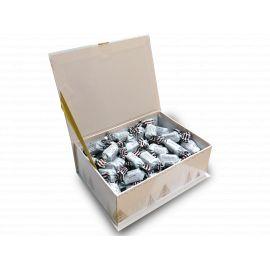 COFFRET JOYEUSES FETES - 500g caramels beurre salé et crème d'Isigny AOP