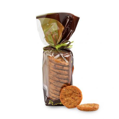 Sachet Biscuits aux Eclats de Caramel d'Isigny