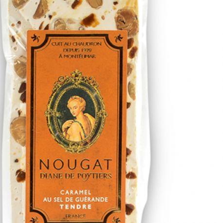 Barre de Nougat tendre au caramel au beurre salé
