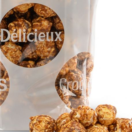 Sachet Pop Corn au Caramel d'Isigny