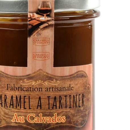 Crème de Caramel au Beurre salé et au Calvados