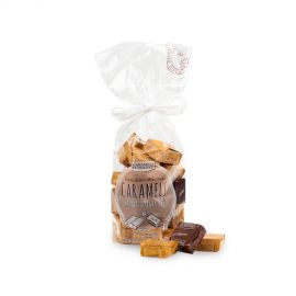 Sachet Caramels Assortiment Noisette, Marron & Noix