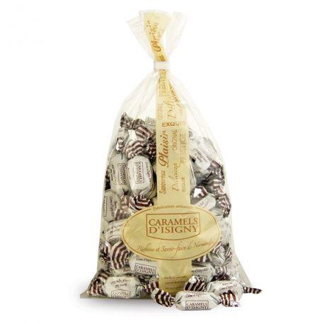 Sachet 500g Caramels Beurre salé et Crème d'Isigny AOP